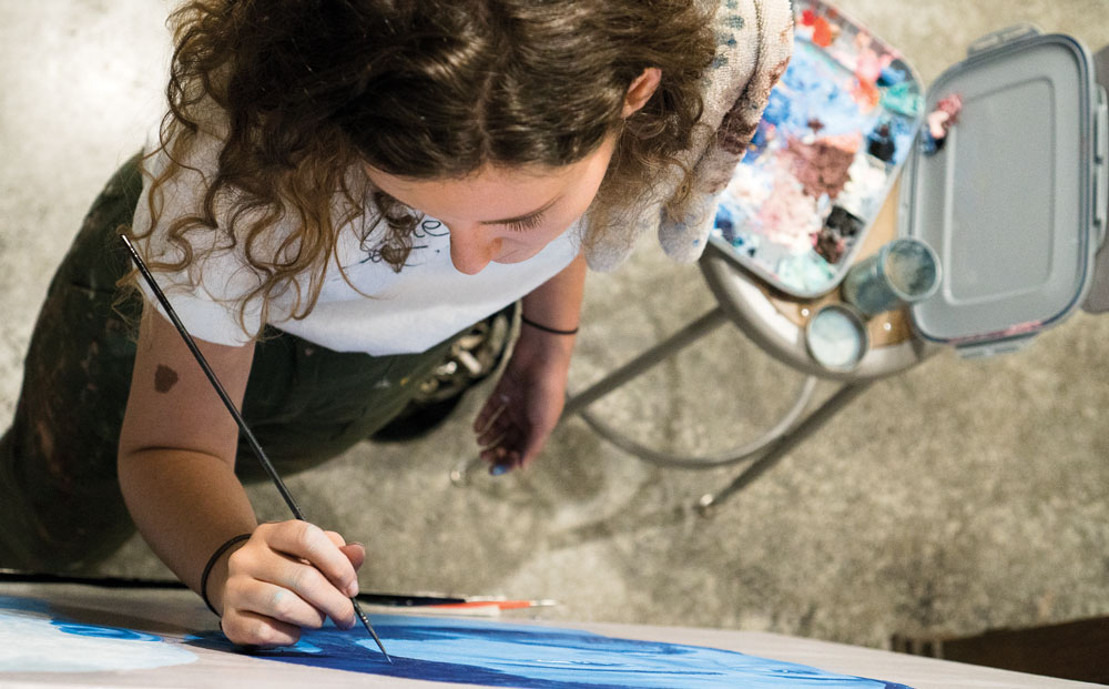 Welcome to the Incarnate World of Student Artist Cassidy Fritts