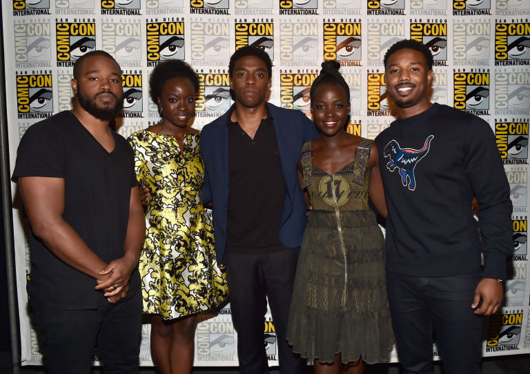 What The 90 Percent Black Cast Of Black Panther Means In The Age
