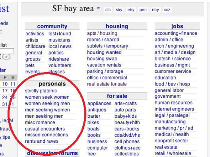 Craigslist Tallahassee Personal Find Personals on Your City