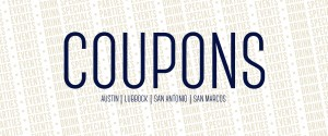 Coupons Page Header