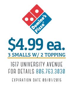 Dominos Lubbock
