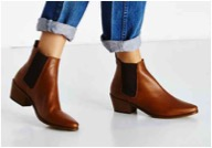 Urban Outfitters Dune Petra Pointy Toe Chelsea Boot $160.00 >