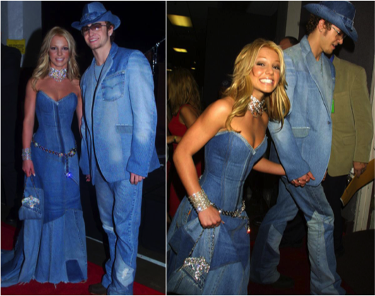 Brittany Spears And Justin Timberlake In All Denim At The 2001 Vmas - Study Breaks-4951