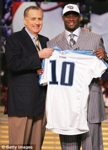 Vince Young before losing all his money