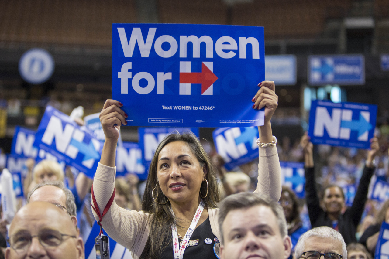 First Hilary, Then You: Encouraging Political Participation in College Women