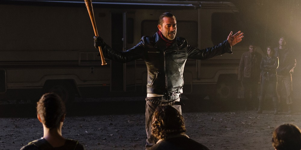 Negan with the Killing Line up