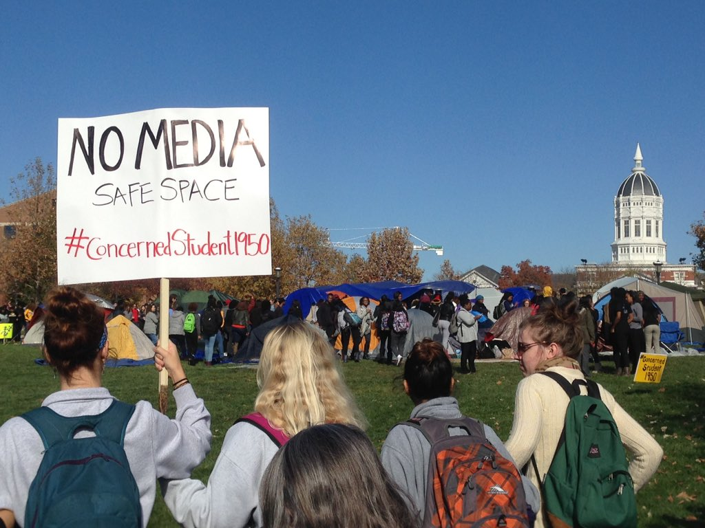 If You're Offended, Get Over it: College is Not a Safe Space