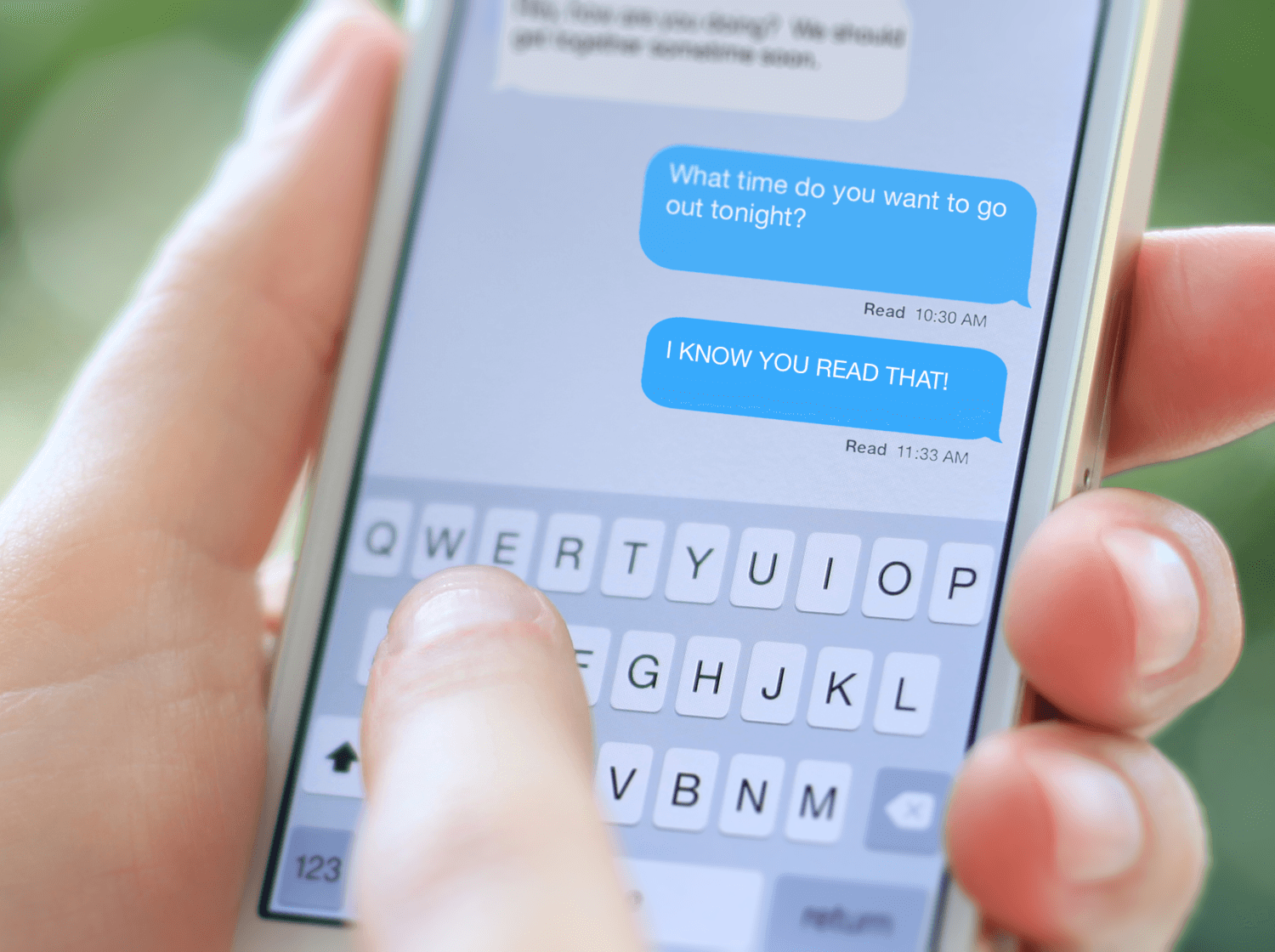 The Slippery Slope of Read Receipts