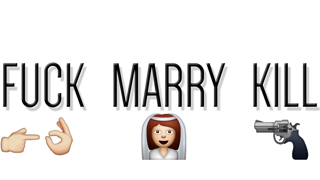 """F**k, Marry, Kill:"" Putting a Crude Game in its Place"