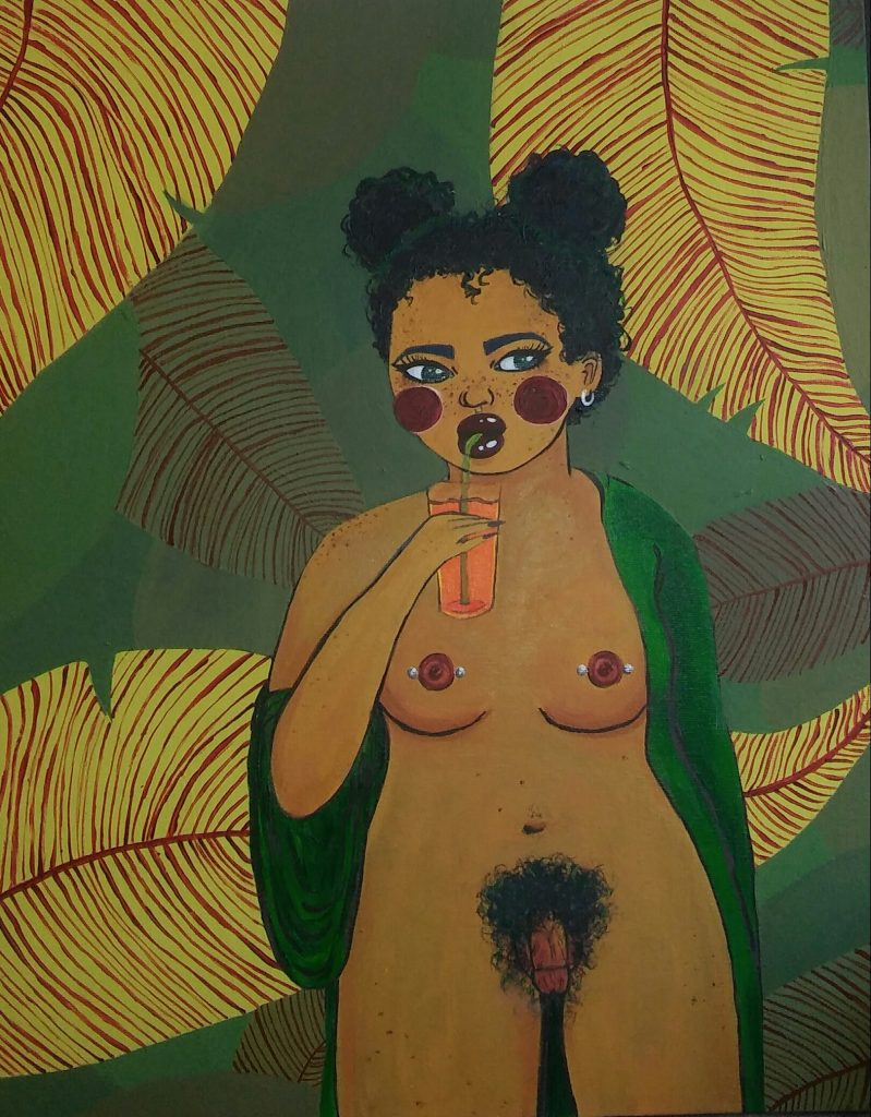 Intersectional Artist Destiny Eames Uses Her Provocative Work to Advocate Equality