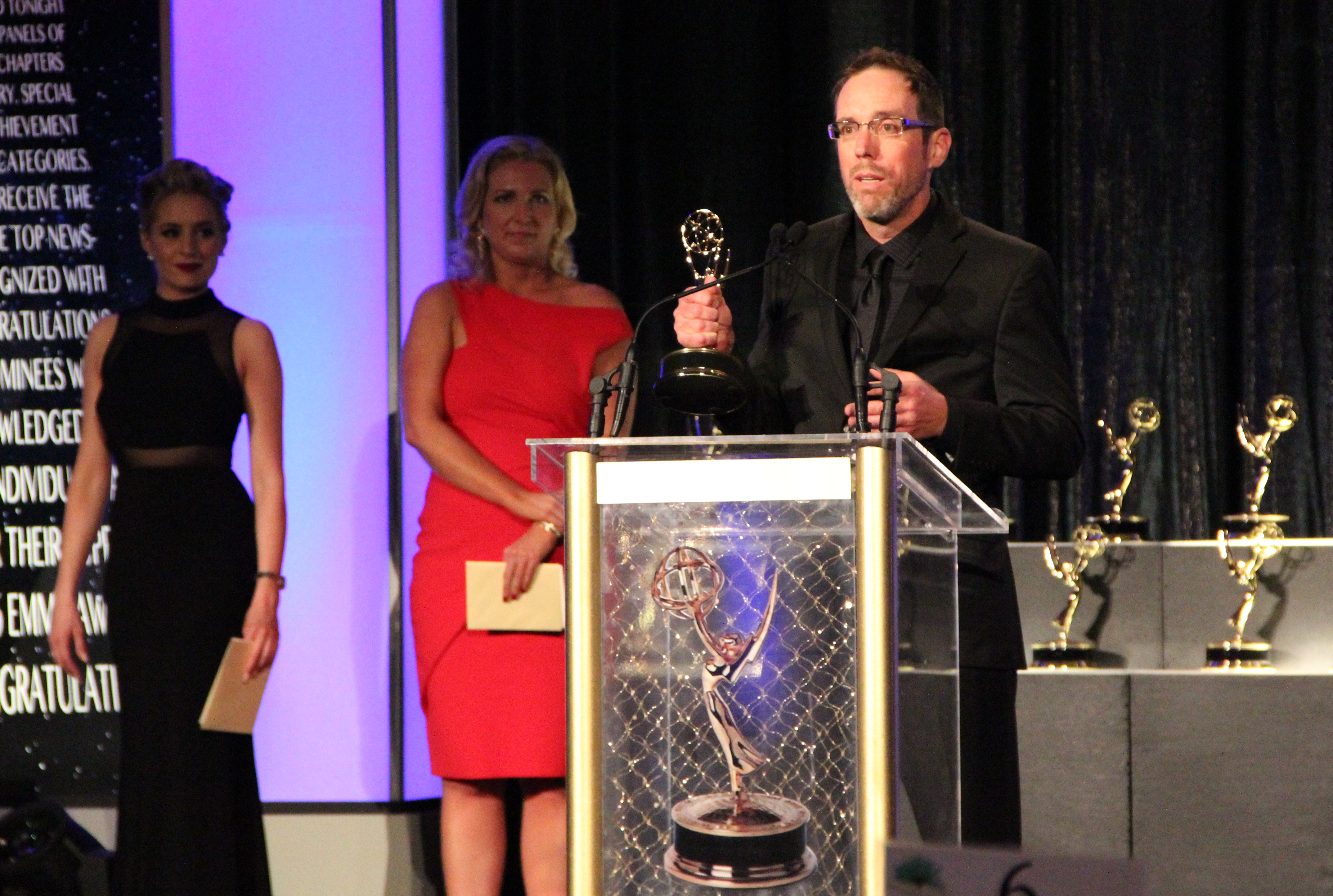 Emmy-Winner and CSUSM Student Luke Bisagna Isn't Done Learning, Teaching and Plying His Craft