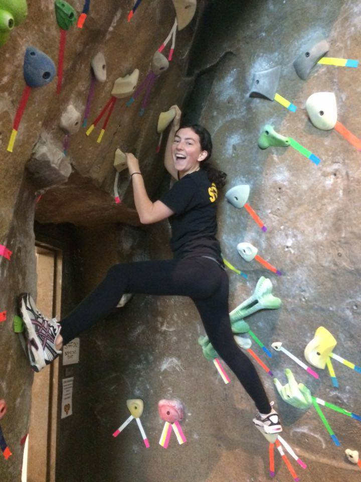 Rock Climber Heather Bachman Has Fallen for Helping the Disabled Community