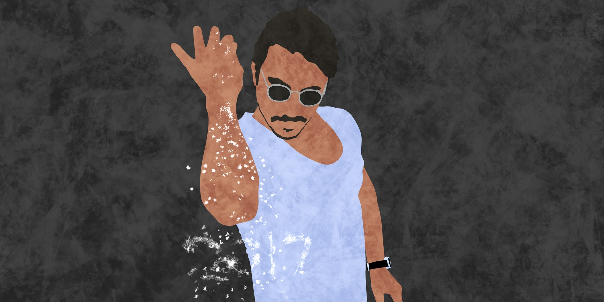 Salt Bae has descended from his saline perch to grace New York with his meats On Thursday the Turkish chef and living meme born Nusret Gökçe will