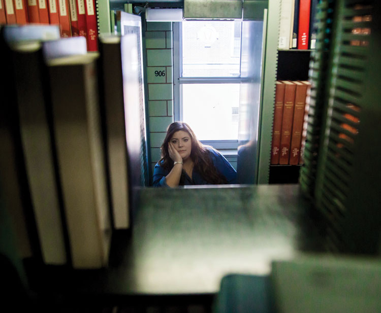 Homeless in College: Living in the Library