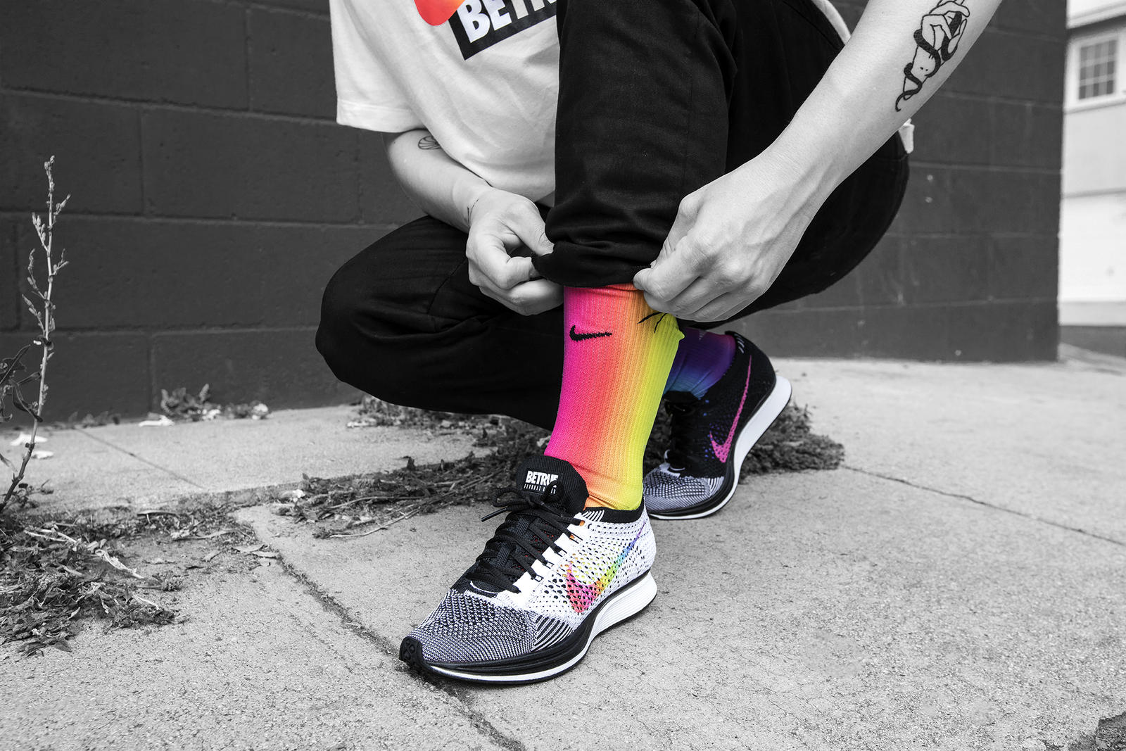 cb3795ba Nike's 'Be True' Campaign Promotes LGBTQ+ Equality in Athletics