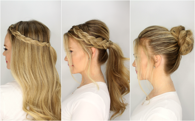 5 Harmless, Heatless Hairstyles for Summer