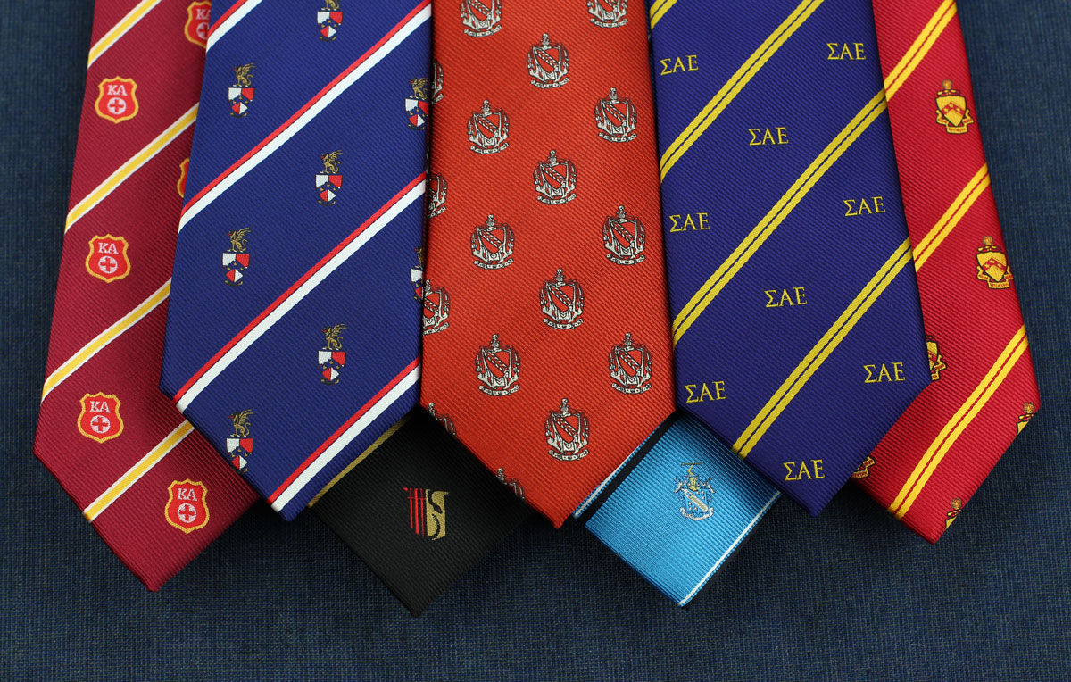9a1e47bb2 This Men's Apparel Company Gives 'Fraternity Ties' a Whole New Meaning