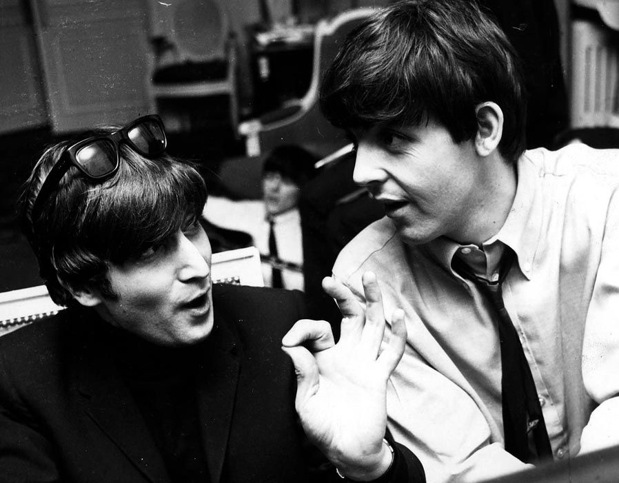 John Lennon And Paul McCartney Met As Teenagers In Liverpool Marking The Start Of A Music Legend Image Via Daily Express