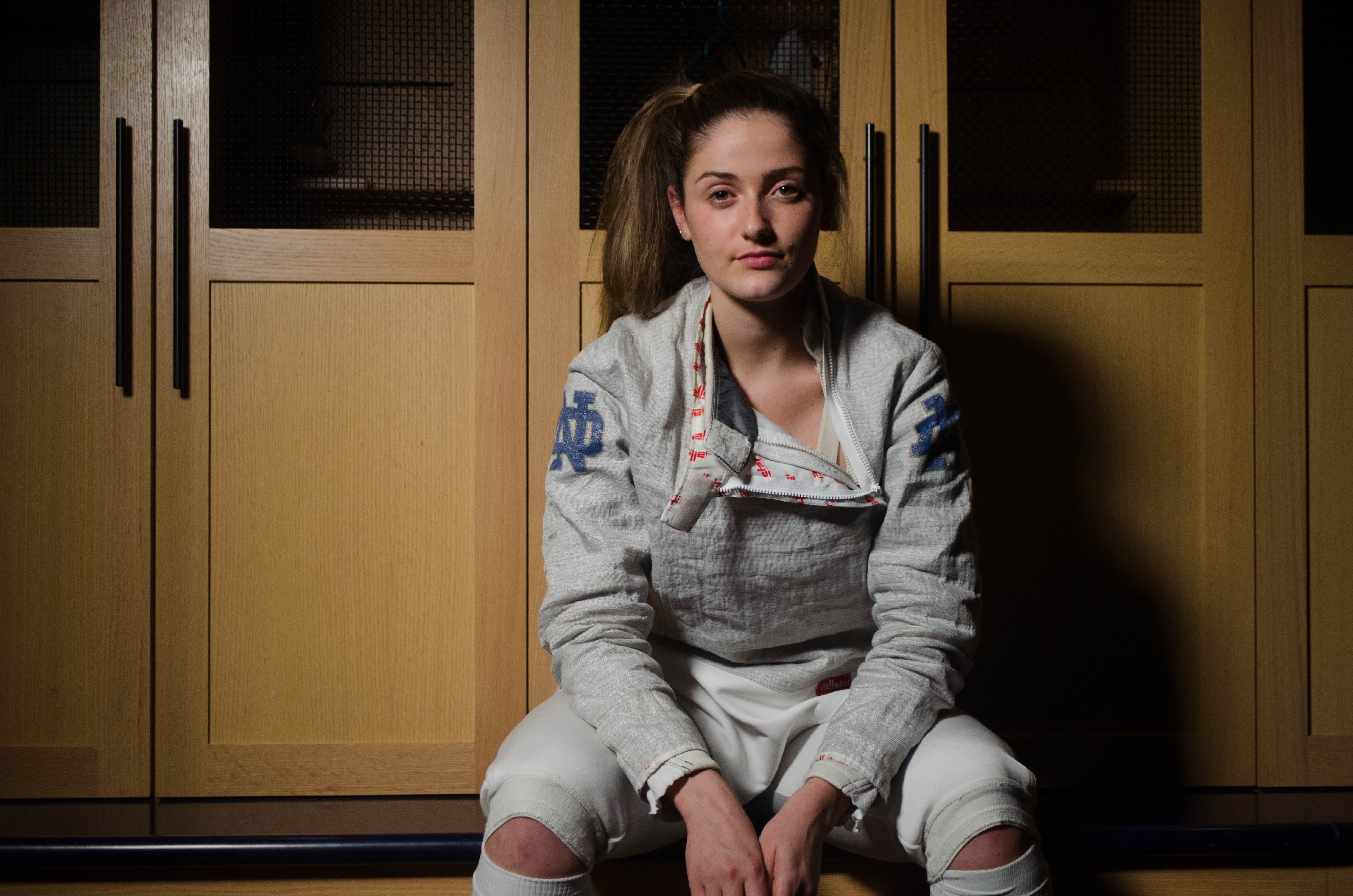 Fencer Francesca Russo