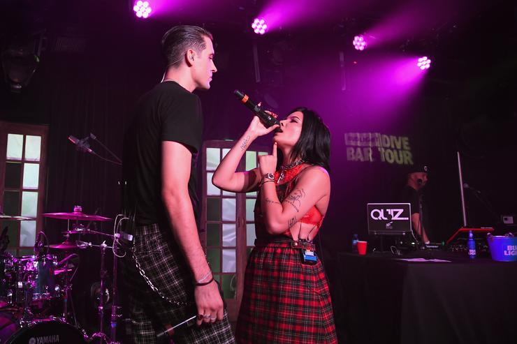 G-Eazy and Halsey Represent 2017 Relationship Goal