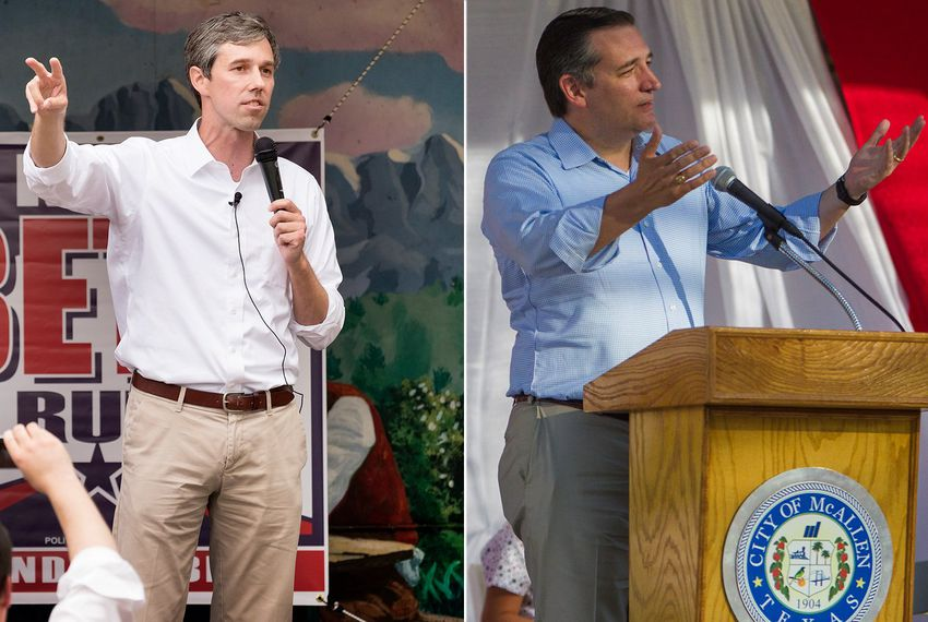 O'Rourke and Cruz