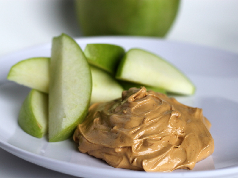 Caffeine-sensitive apples and peanut butter