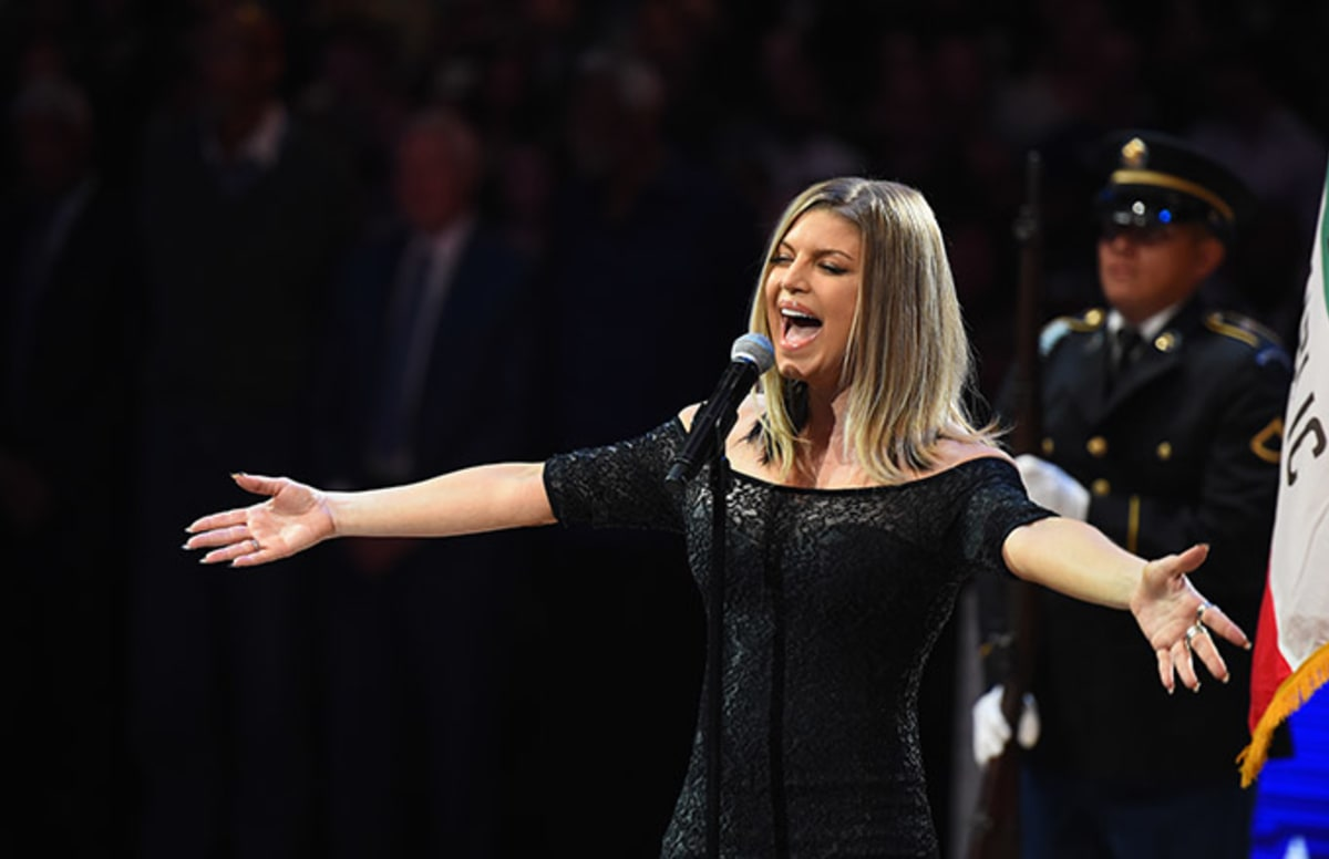 Study Breaks Magazine Fergie National Anthem
