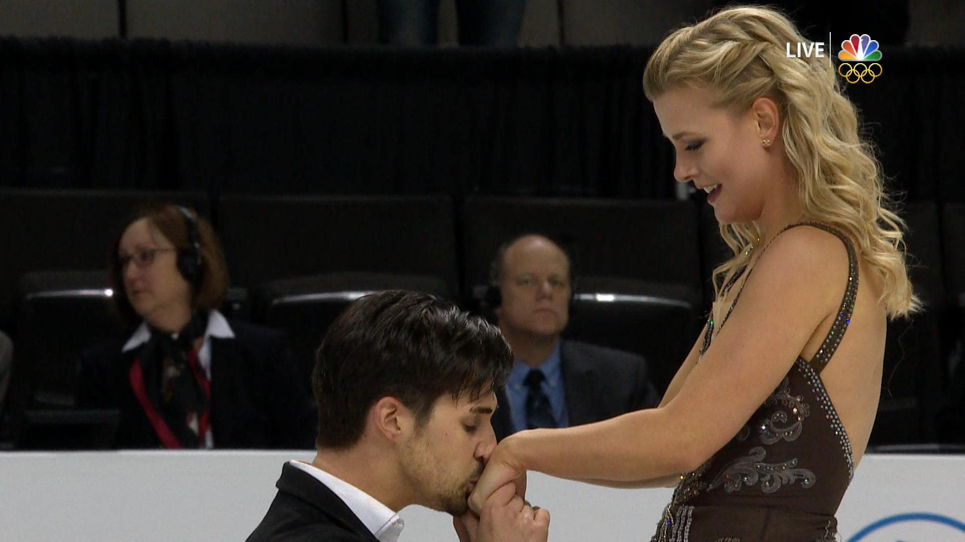 Zachary Donohue and Madison Hubbell