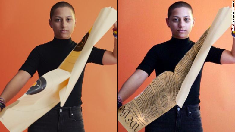 A Fake Video of Emma Gonzalez Has Gone Viral