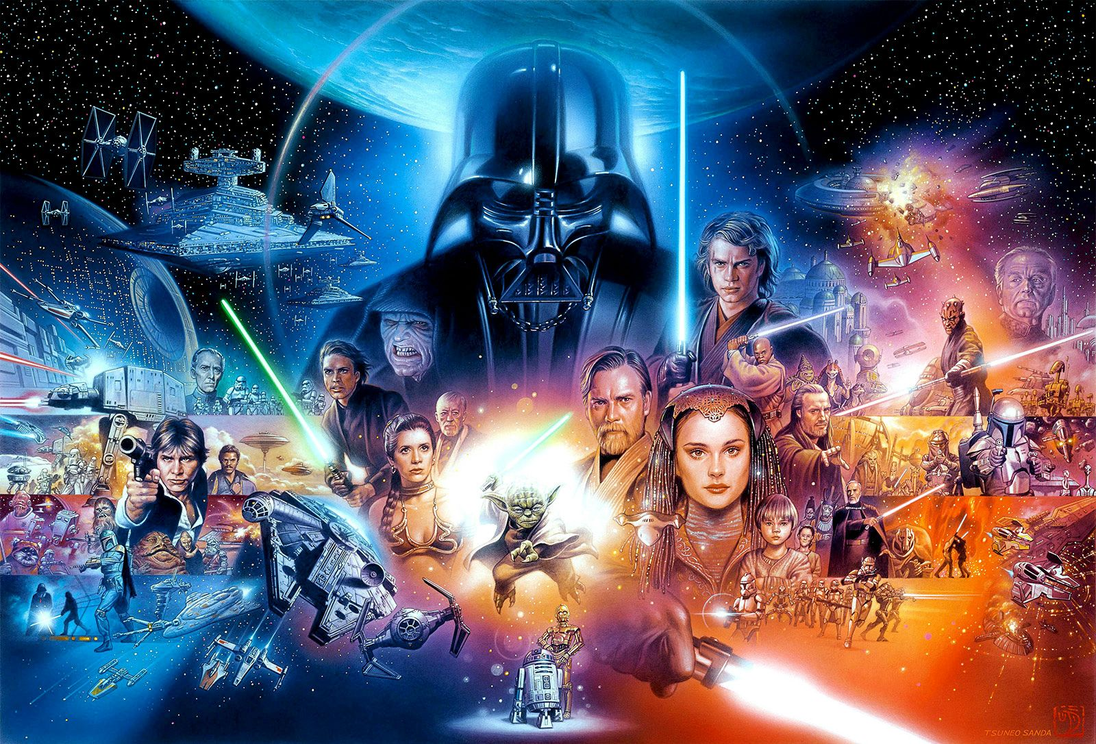 with movies out every year is star wars heading down marvel road