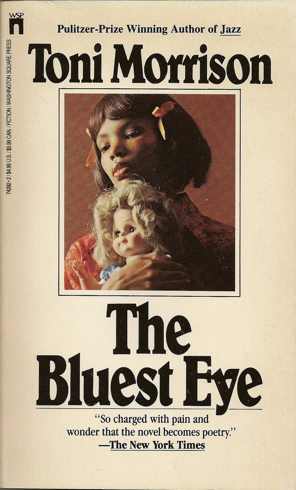 an analysis of the theme of racism in the bluest eye a novel by toni morrison Bluest eye toni morrison bluest eye literature essays are academic essays for citation these papers were written primarily by students and provide critical analysis of bluest eye.