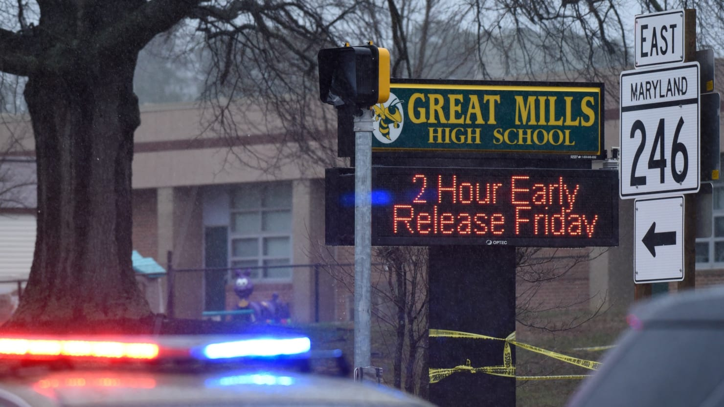 Maryland's Great Mills School Shooting Furthers Gun Law Debate