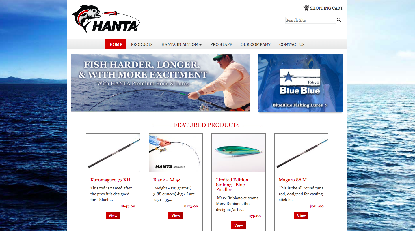 Hanta Rods and Reels
