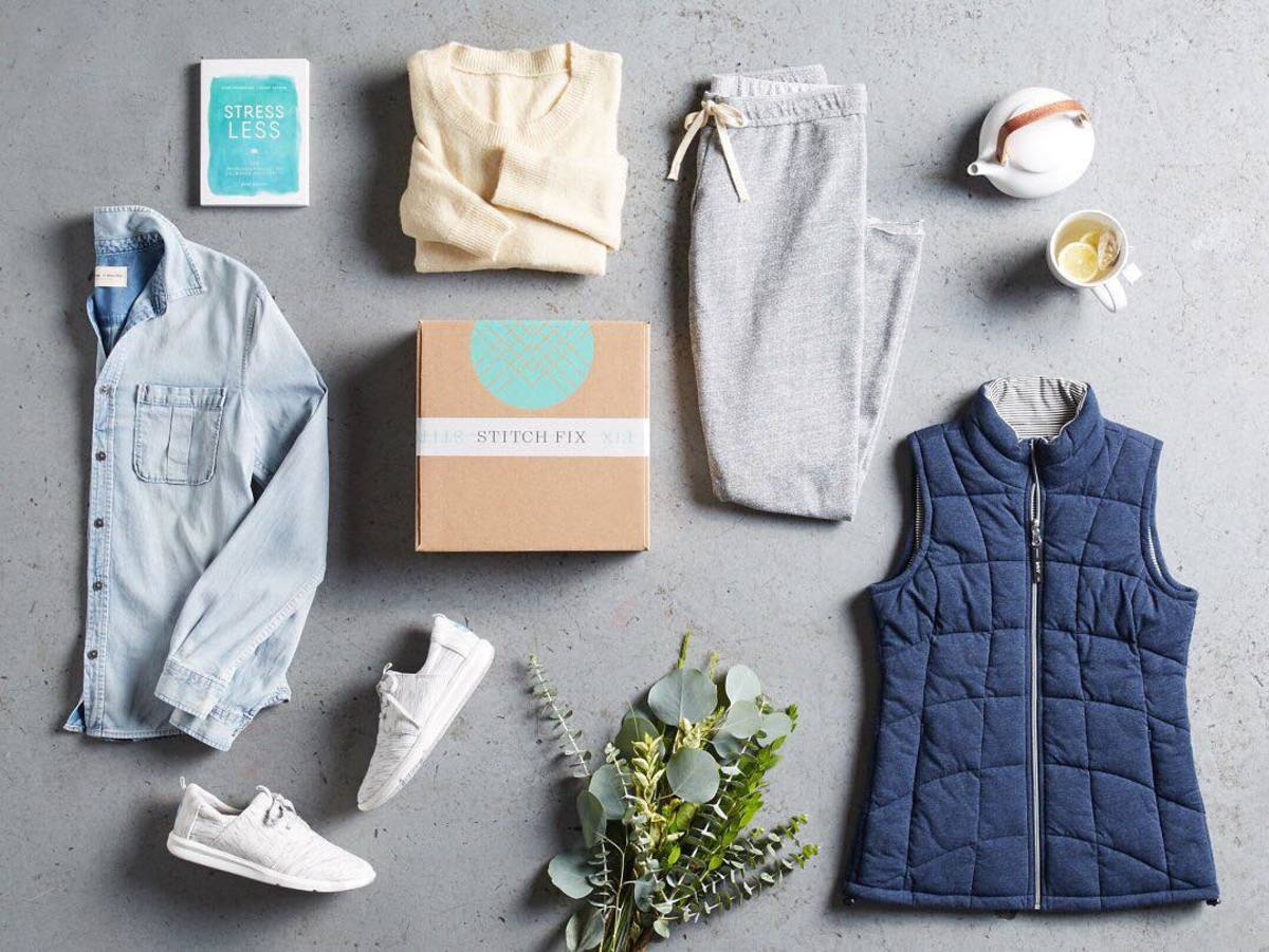 Stitch Fix best women's clothing subscription boxes