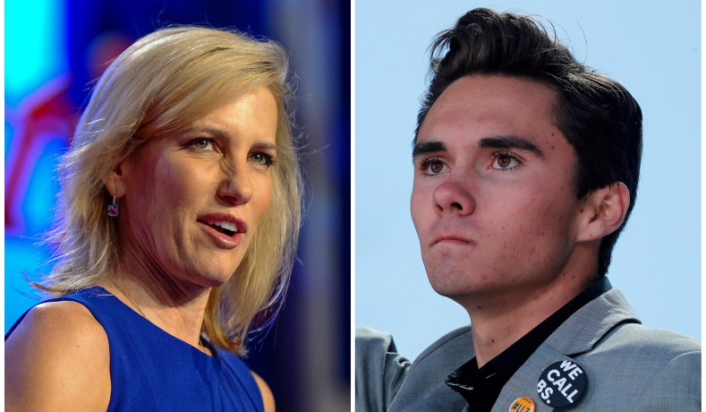 Parkland Survivor David Hogg Rejects Laura Ingraham's Apology