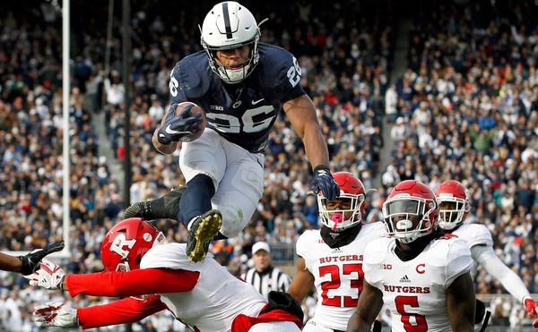 Saquon Barkley is one of the most talented running backs to emerge from the draft but NY might regret not snagging a quarterback