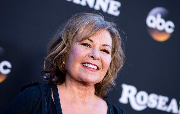 Roseanne Barr at the premiere of 'Rosanne'