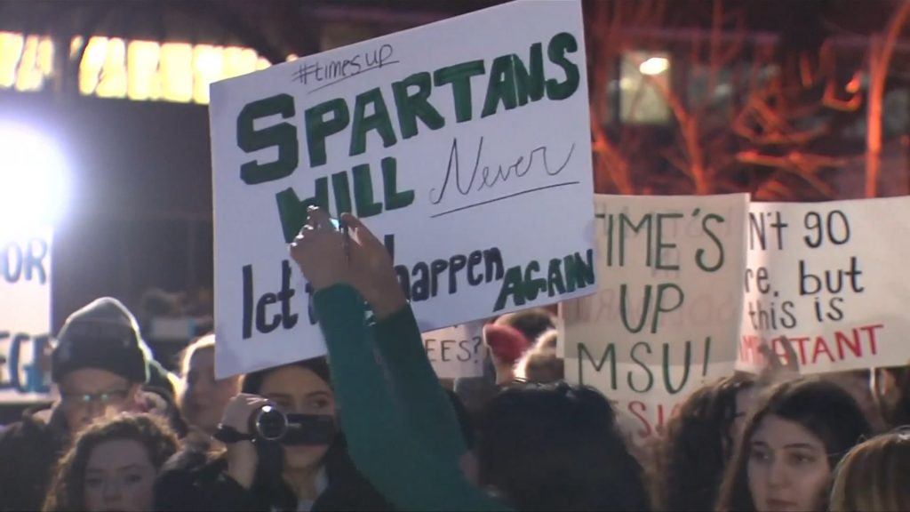Michigan State University protest