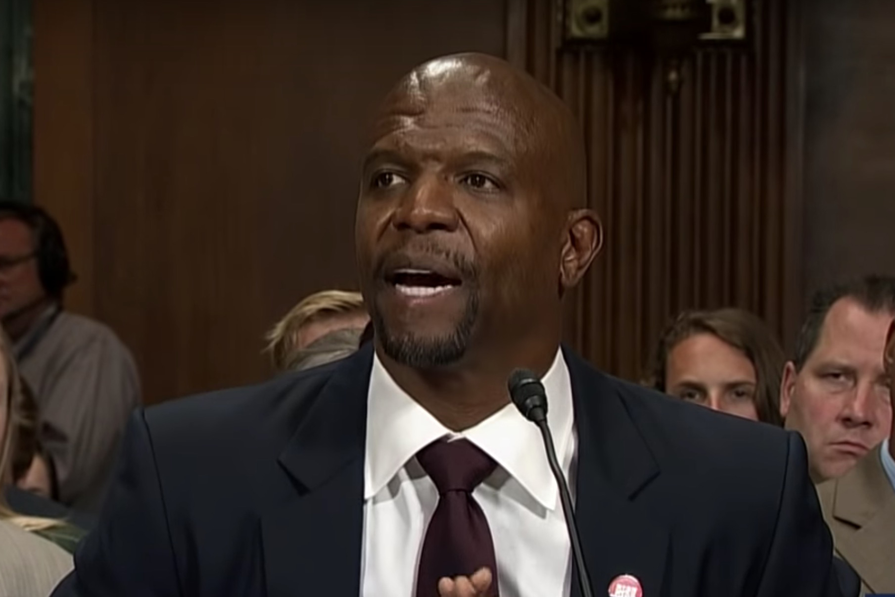 Terry Crews Testifies Before Congress