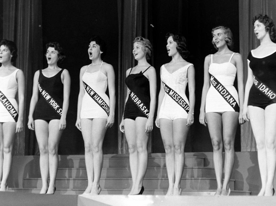 Miss America swimsuit