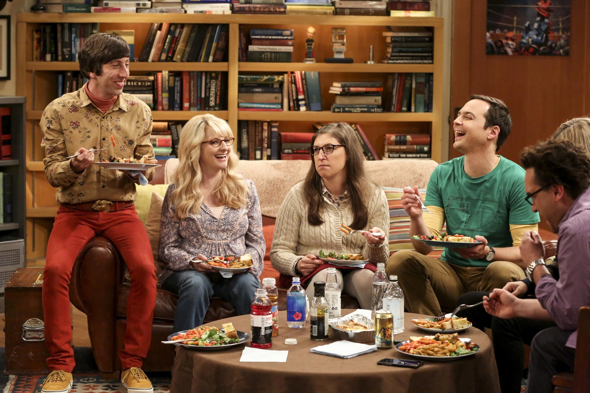 a report on the big bang theory Big bang theory cast take pay cut to help mayim bialik, melissa rauch get raises: report.