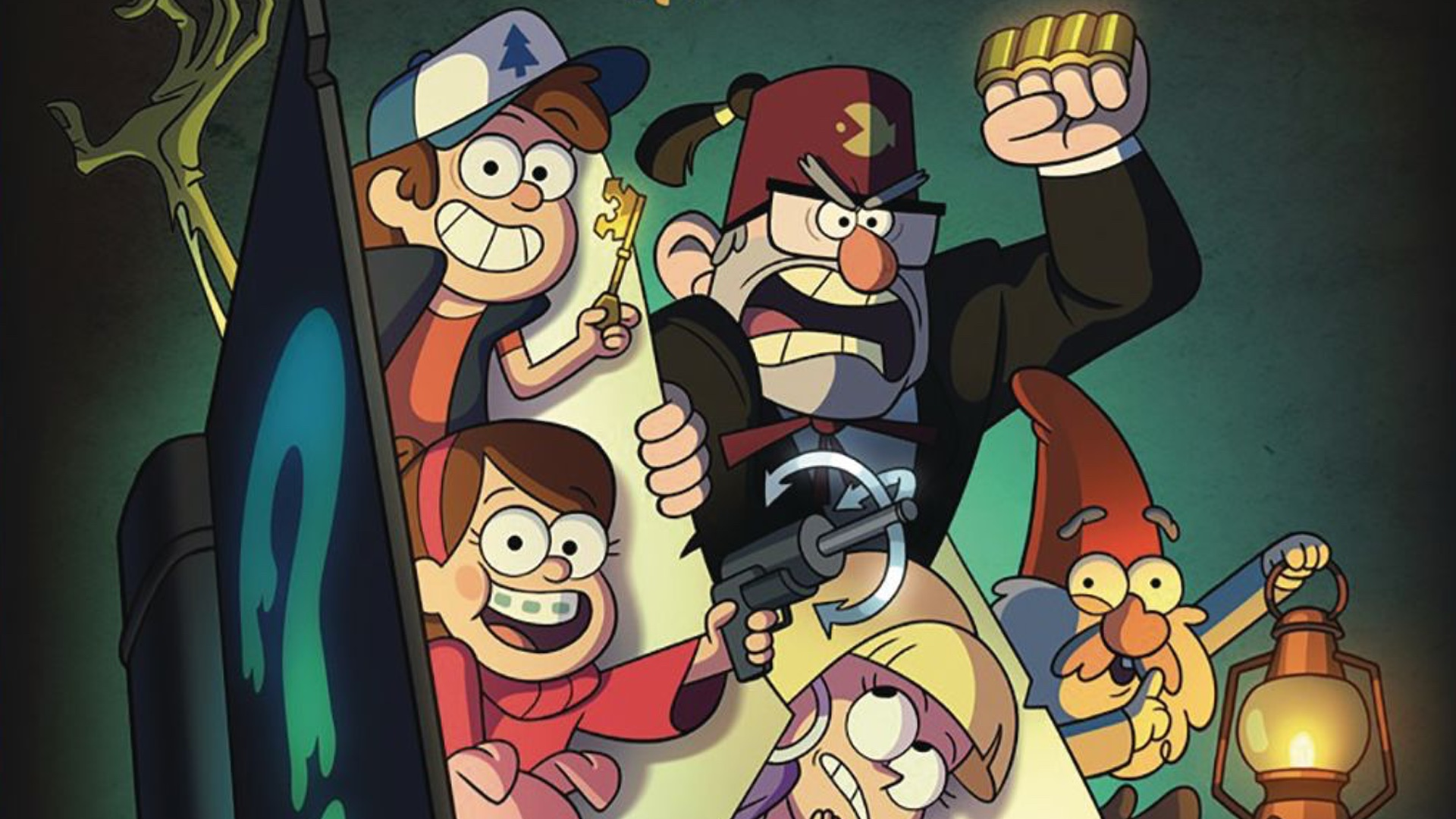 Alex Hirsch Gravity Falls Lost Legends