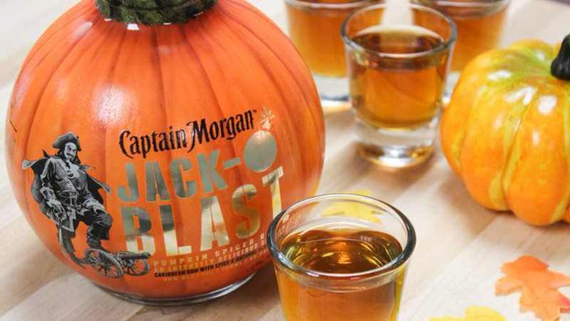 71c0d84c For anyone trying to get saucy and seasonal, pumpkin-spiced rum is your  best bet. (Image via Vine Pair)