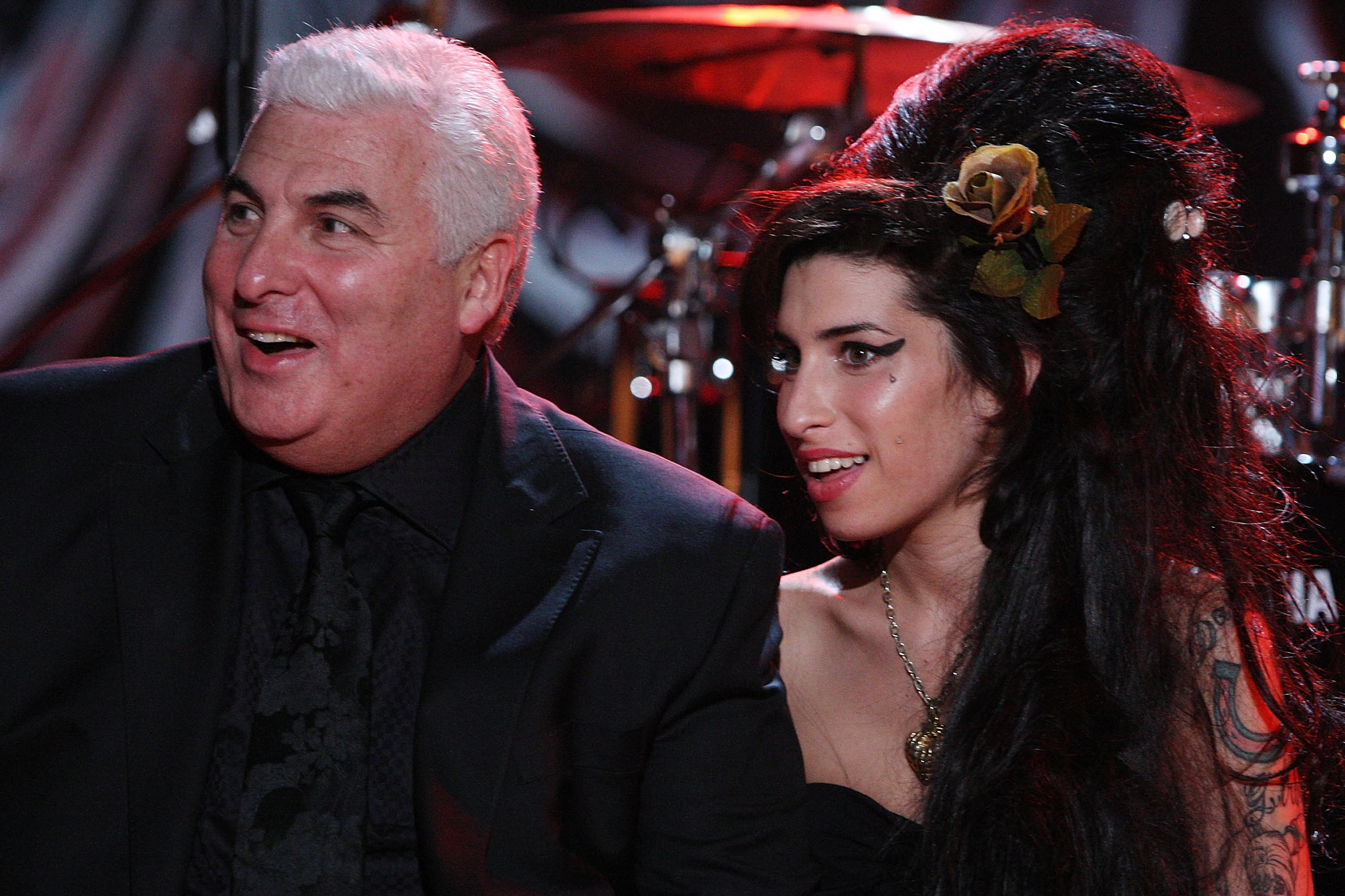 Amy Winehouse's father continues to advocate for the hologram tour, much to fans' dismay. (Image via Page Six)