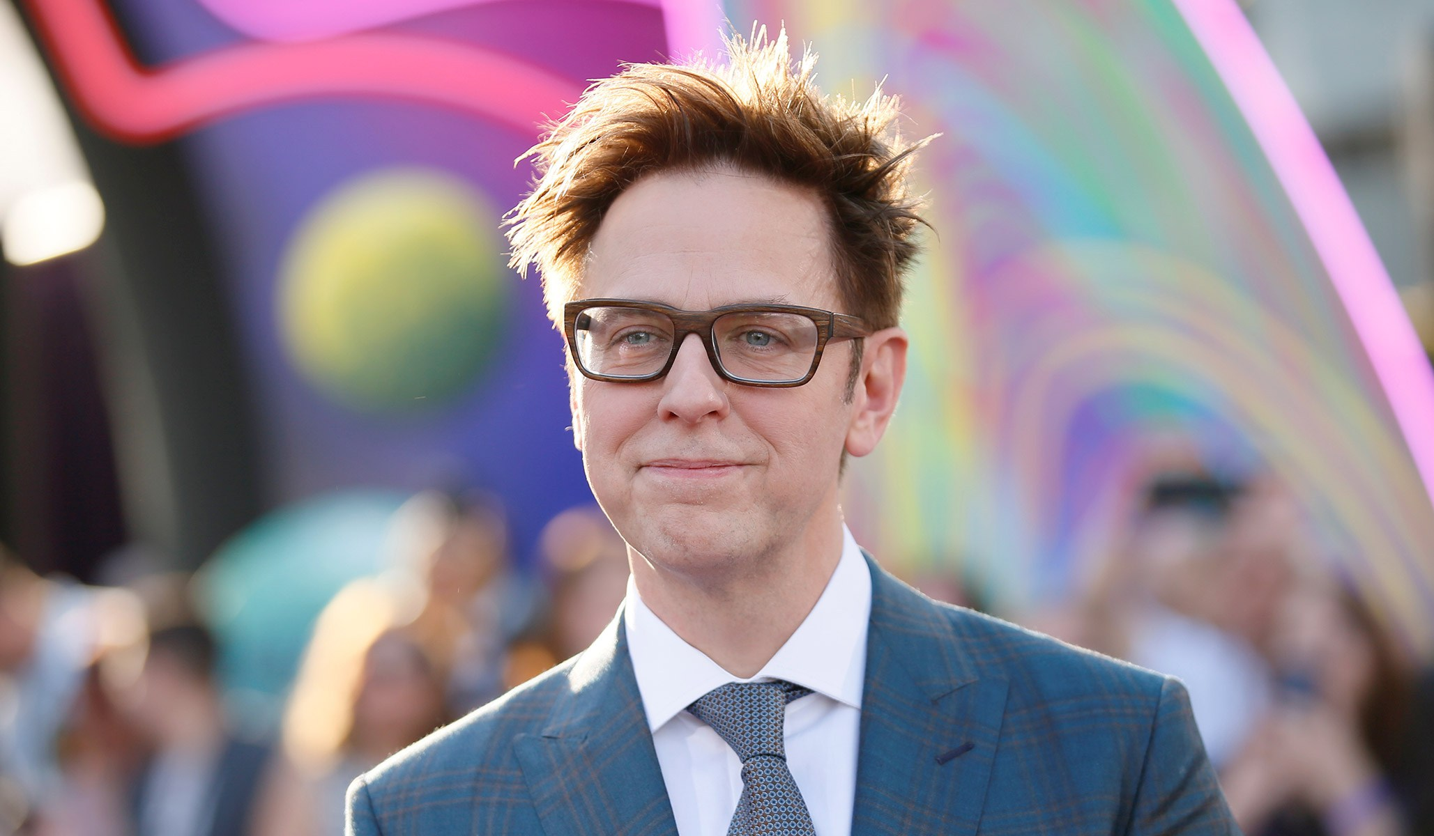 While he does have a controversial past, there's no denying James Gunn's abilities as a film maker. (Image via National Review)