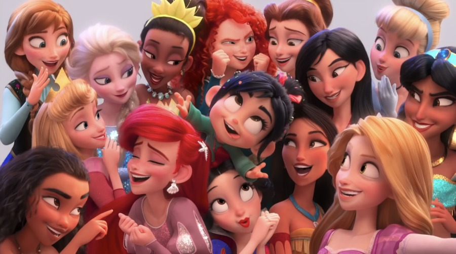 """Wreck it Ralph 2"" will feature more Disney princess cameos, to the excitement of many fans. (Image via wdwinfo)"