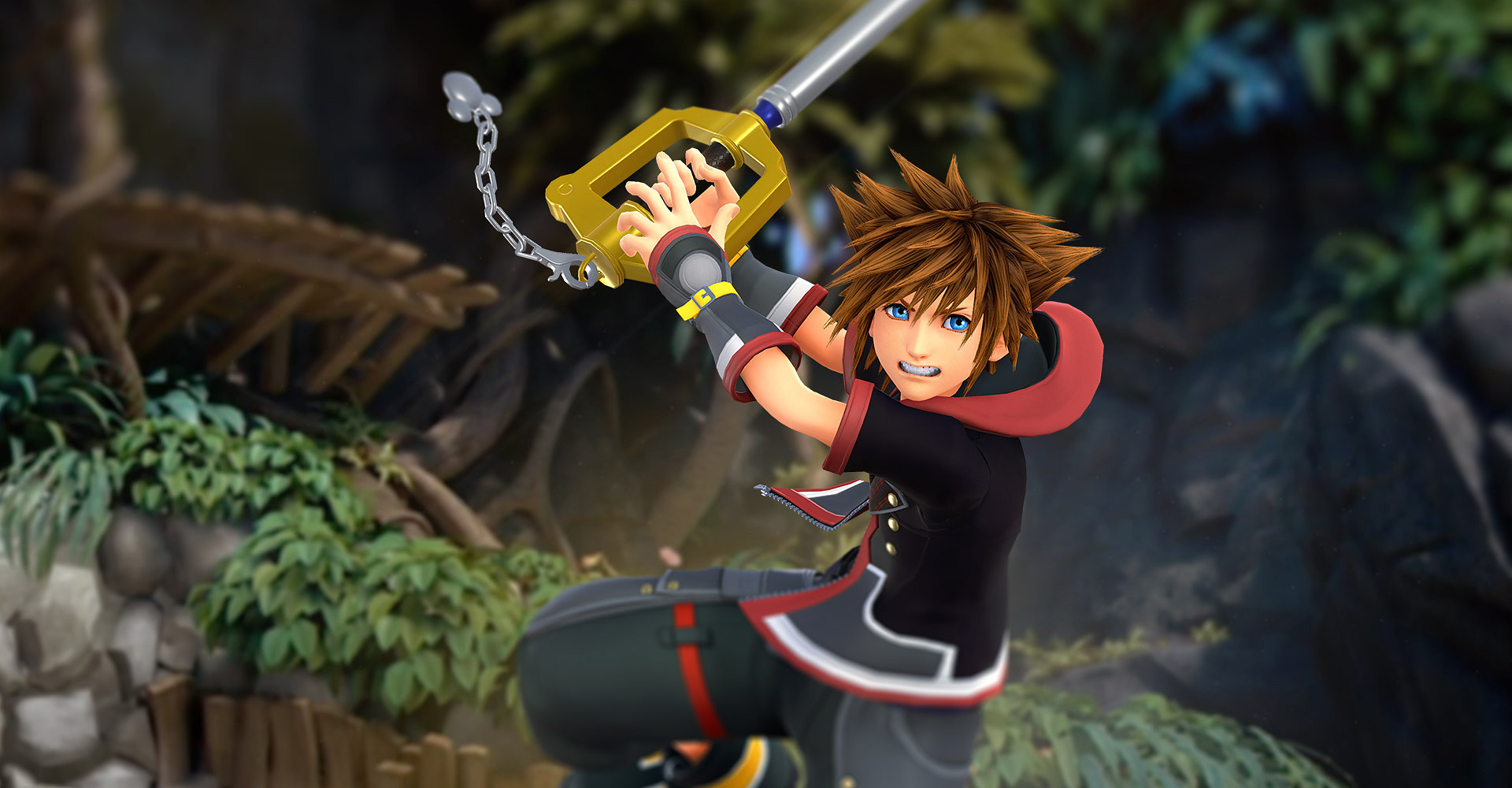 "Sora is always optimistic, which plays a big role in making ""Kingdom Hearts"" appealing to gamers. (Image via Zerochan)"