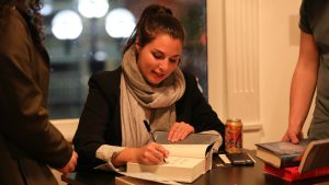 Victoria Aveyard, a prominent YA author, is vocal about her teen pregnancy views on Twitter. (Image via ClickOnDetroit)