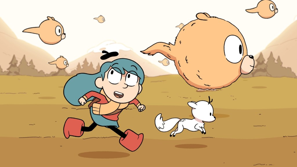 """Hilda"" is appealing to both children and older audience demographics. (Image via DownTheTubes)"