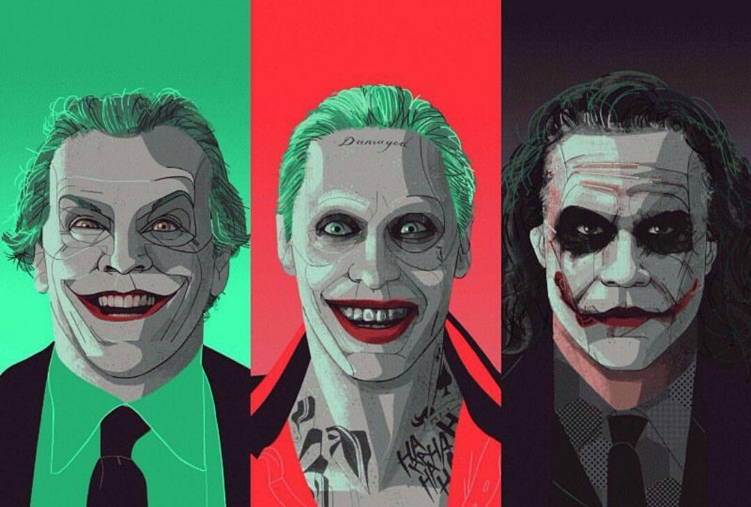 The Joker could be more famous than Batman himself. (Image via Behance)
